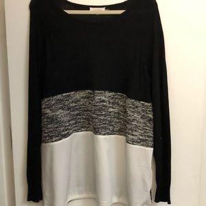 Multi Textured Calvin Klein Sweater